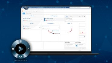 How to review and update tasks with Collaborative Industry Innovator in 3DEXPERIENCE