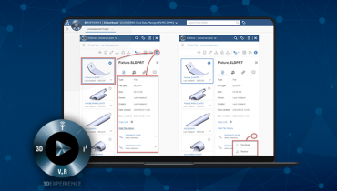 3DEXPERIENCE: How to Review File History in 3D Drive