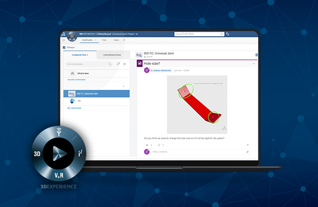 How to mark-up files in 3DEXPERIENCE