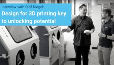 Design for 3D printing key to unlocking potential