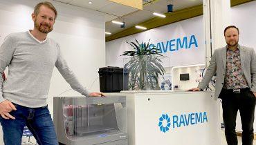 Henrik Ekenstjärna, Service Manager, Ravema, and Alexander Olander, Business Unit Manager, Ravema.