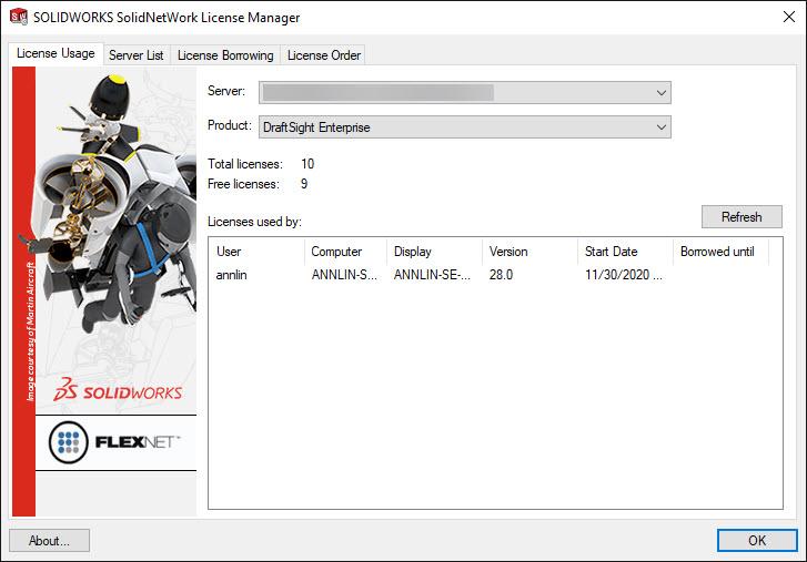 Litsentsid DraftSight versus AutoCAD