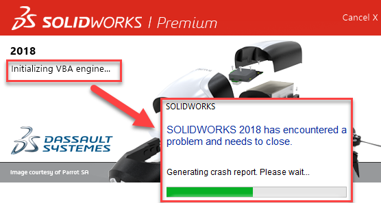 Working with SOLIDWORKS and Windows 1809 version update - PLM Group EU