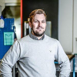 Martin Fredin, CEO, MF Precision