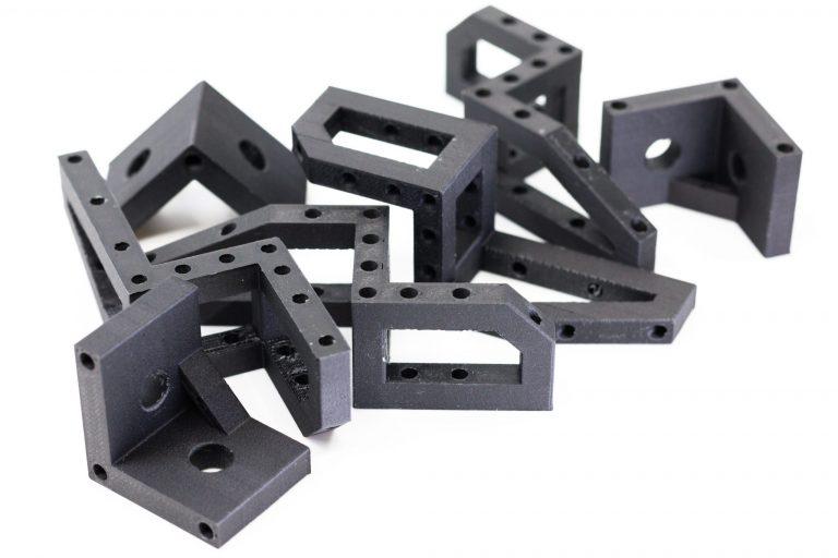 3D printed parts in Onyx FR